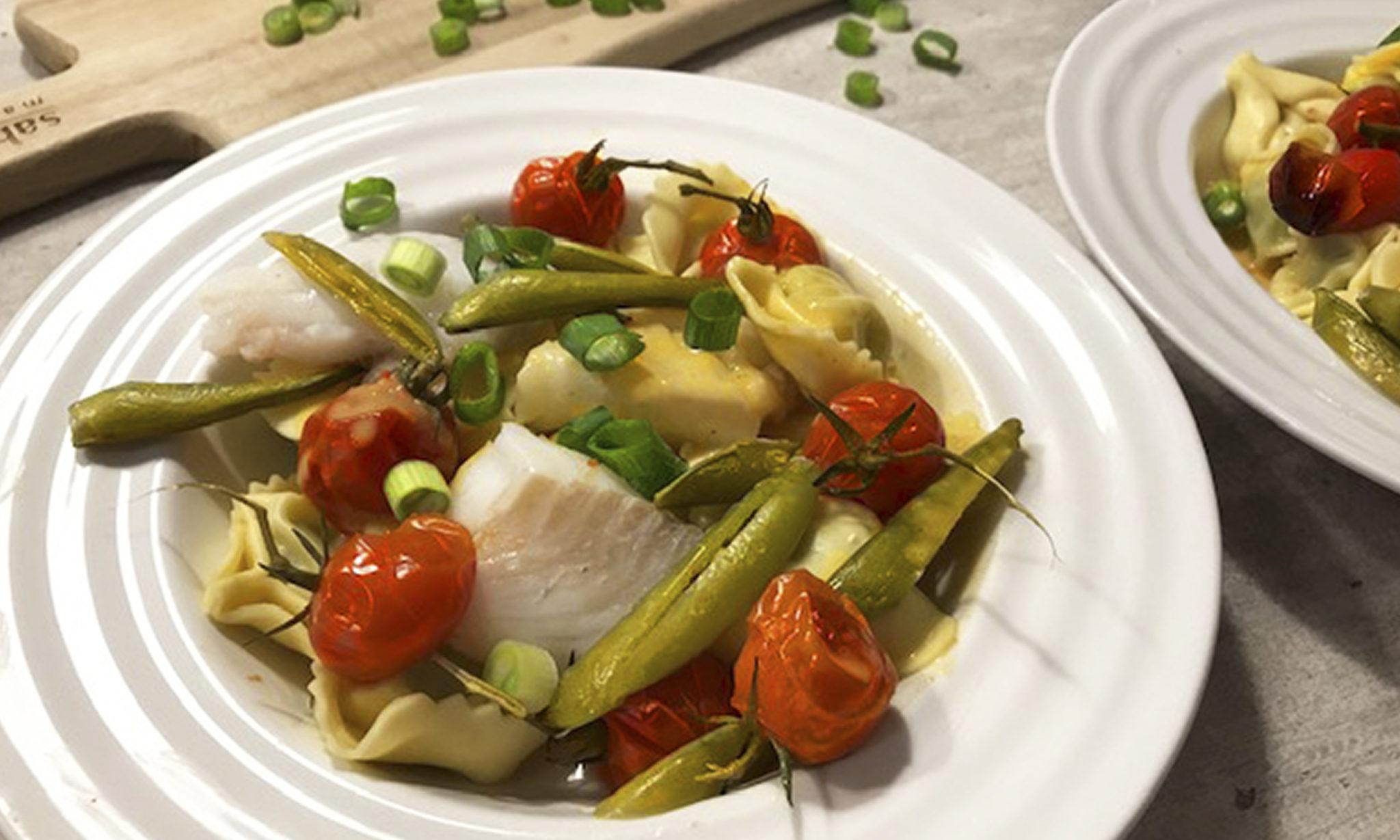 Fisk og tortollini